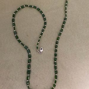 Lab Created Emerald Necklace